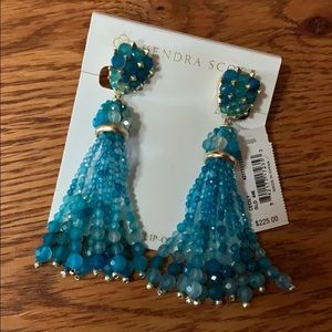 Kendra Scott STATEMENT Cecily Clip on Earrings NWT